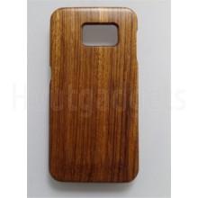 Houten hoesje Samsung Galaxy S6 zebra hout